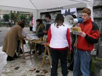 Séptimo sábado contra la pobreza en La Felguera (foto: web de PROYDE Asturias)