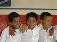Foto de niños nicaragüenses
